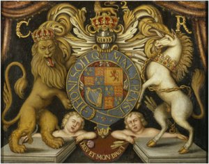 Charles II coat of arms